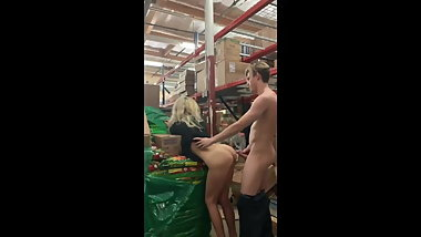 MILF FUCKED AT THE SUPERMARKET