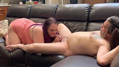 Really good big dick blowjob bbw lingerie
