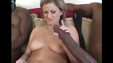 Crazy mature and two BBCs
